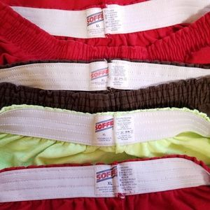 Soffe Shorts - Soffe knit shorts four pair All XL